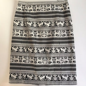 Kate Spade Saturday Motif Skirt